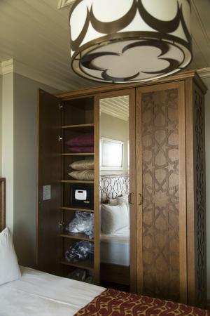 Celine Hotel: 収納力、ばっちり