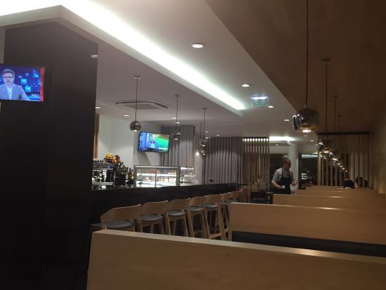 Restaurante Pérola: Pormenor da sala