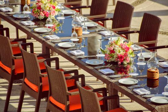 The Westin Resort Spa Puerto Vallarta Wedding Dinner After Ceremony Arricifes