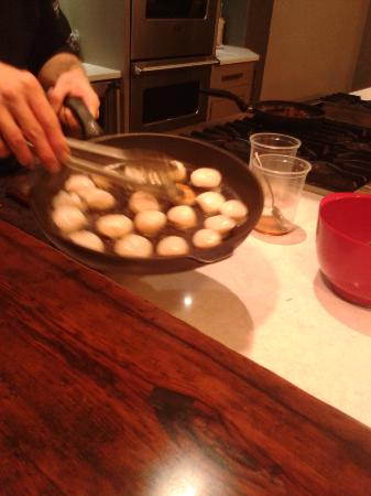 Entertaining Elements: Scallops with maple bacon