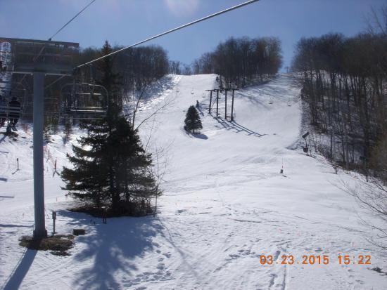 Catamount Ski Area: Chute !