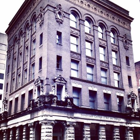 Savannah College of Art and Design : Propes Hall is a commercial building constructed in 1896 situated in Savannah's Historic Distric