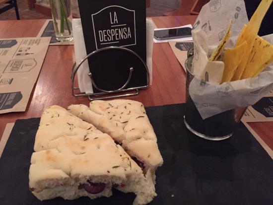 La Despensa: Veggie sandwich à la Provençal