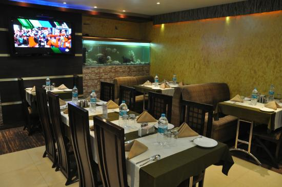 Ambience Restaurant at Hotel Vibhavharsh