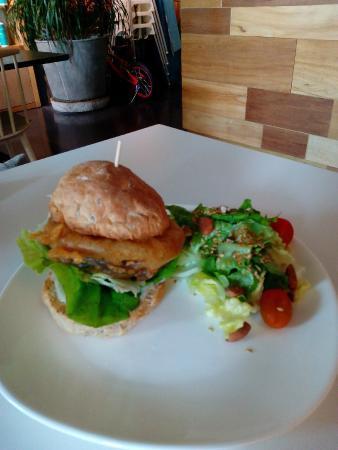 Real Food: Portobello mushroom burger