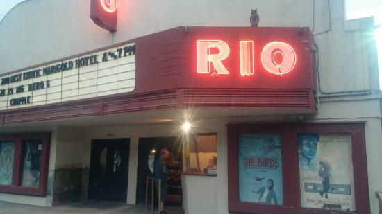 Monte Rio, Californien: Night at the Rio theatre