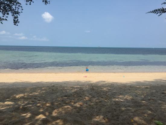 Sabai Beach Resort: Perfekter Strand für Kinder