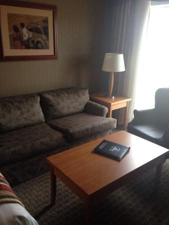 Best Western Plus Port O'Call Hotel : Pull out bed in Family Room