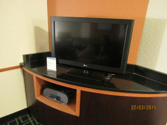 Fairfield Inn & Suites Paducah: TV