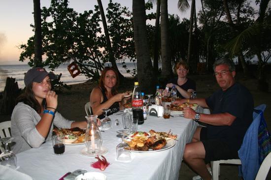 Rancho Salvaje: dinner