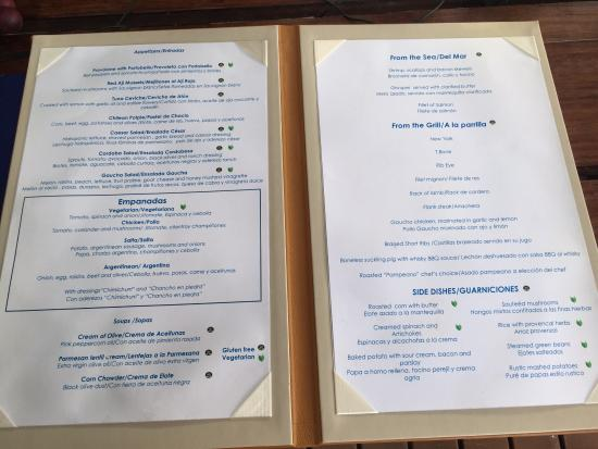 Bluewater Grill Menu Picture Of Secrets The Vine Cancun Cancun