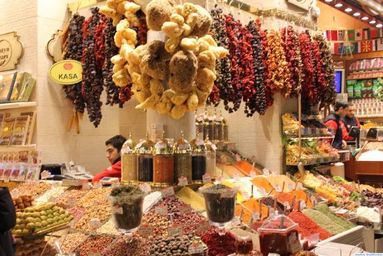 Spice Bazaar. Colourful! - Picture of Spice Bazaar ...