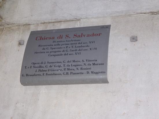 Iglesia San Salvador: церковь