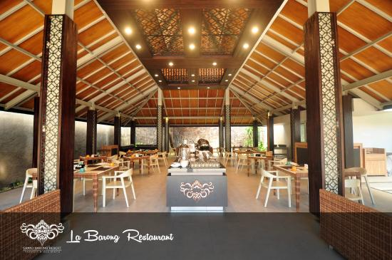 la barong restaurant picture of grand barong resort. Black Bedroom Furniture Sets. Home Design Ideas