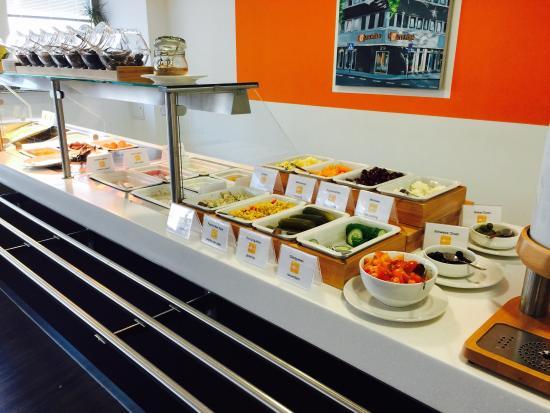Hostel Köln: Breakfast line-up