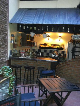 Apassionata-Tango: der Patio für ein wunderbares Frühstück