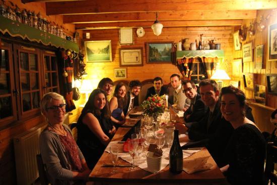 Auberge Nemoz : Petite salle à manger