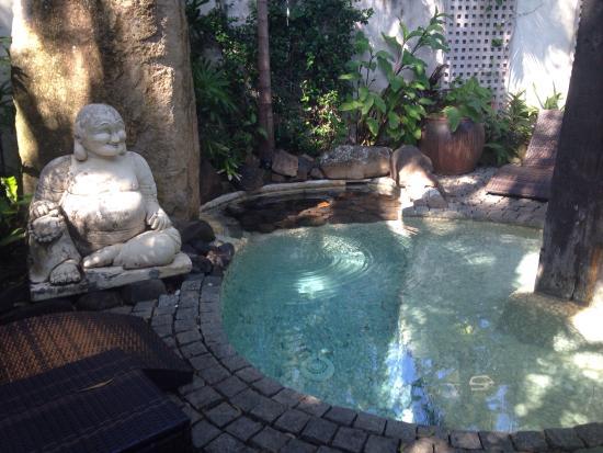 Buddha Gardens Day Spa: Smiling Buddha