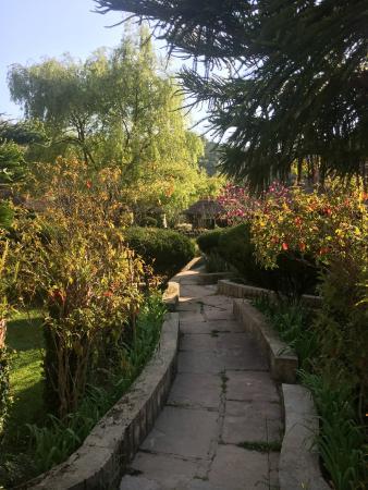 The Lake Village: garden path