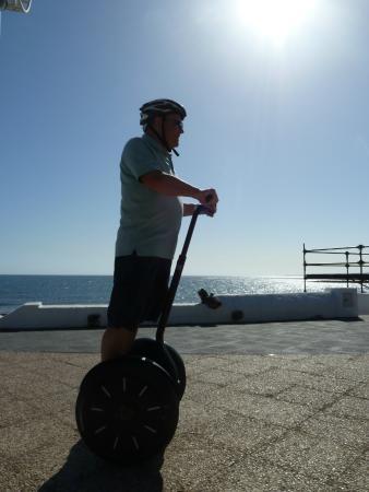 Fliston's Bike : Leaning forward to move forward