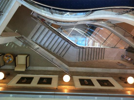 Hotel Master: Stairway from the third flor