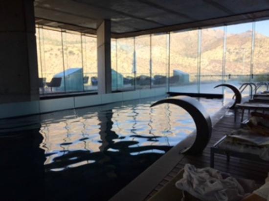 Enjoy Santiago Hotel del Valle: Indoor/outdoor heated pool