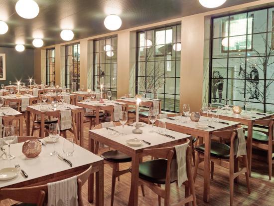 Colonialen Restaurant : Colonial Litteraturhuset Brasserie in Skostredet.
