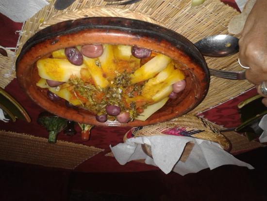 Caravane du Sud: salle à manger