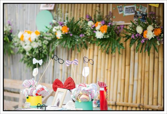 Hacienda Bali : photo booth