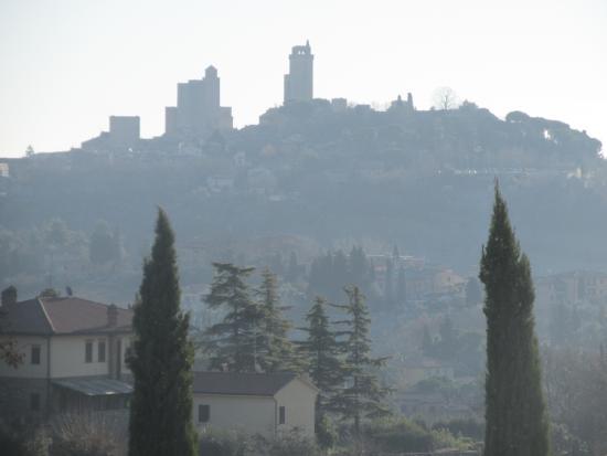 Villa Ducci : Vista dalla camera