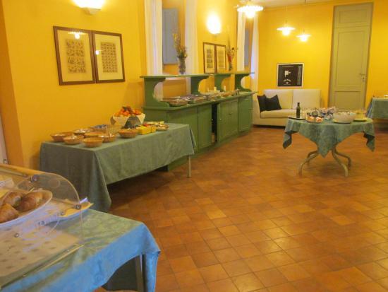 Villa Ducci : Sala colazione