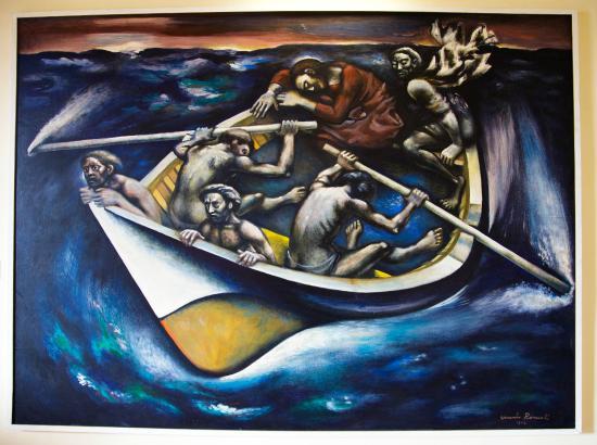 Rufina, Italia: La Barca Gesù sul lago di Tiberiade