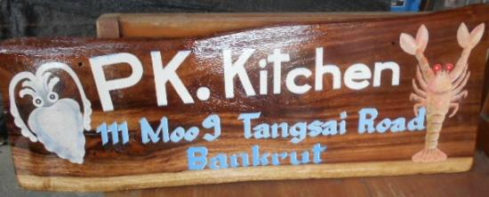 Bang Saphan, Thailand: PK.Kitchen