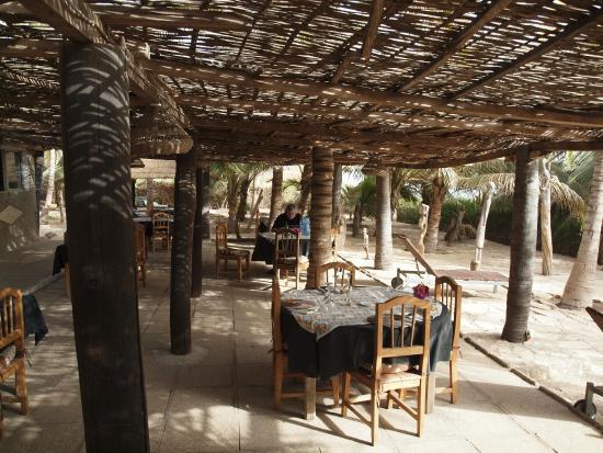 Le Mbaila Hotel : L'après midi, salle à manger