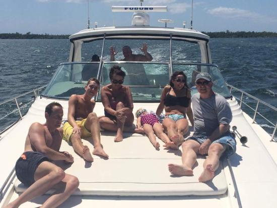 Cayman Private Charters: Relaxing in the Sun!