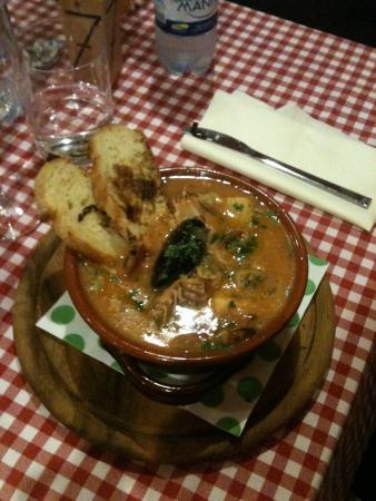 Casalmaggiore, Italia: Zuppa di pesce