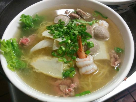 Mekong Restaurant : Special Egg Noodle Soup