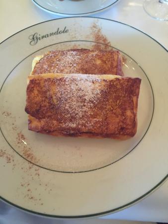 Girandole: French toast