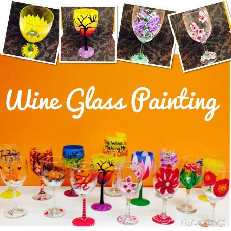 Brewer, ME: Wine Glass Painting Night!