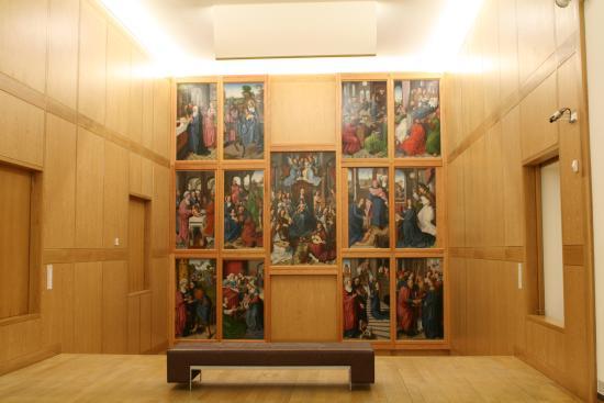 Museu de Évora: Retábulo da antiga Capela-mor da Sé