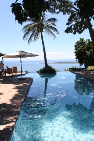 Bumi Hills Safari Lodge - African Bush Camps: View from the pool deck overlooking Lake Kariba