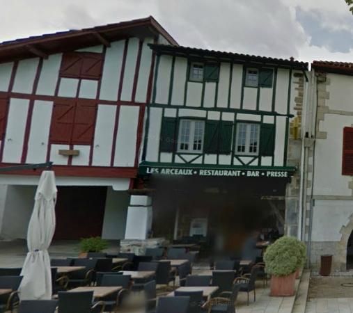Bar Restaurant Les Arceaux : Les Arceaux La Bastide Clairence