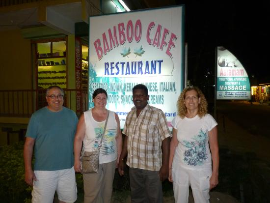 Bamboo Cafe: With Mr Senraj