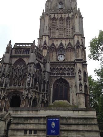 St Mary Redcliffe Church: Front of the Church