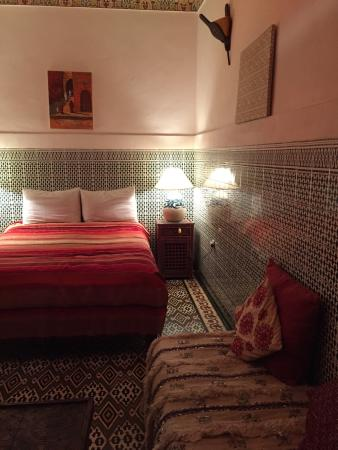 Riad El Sagaya : One of The beautiful bedrooms.