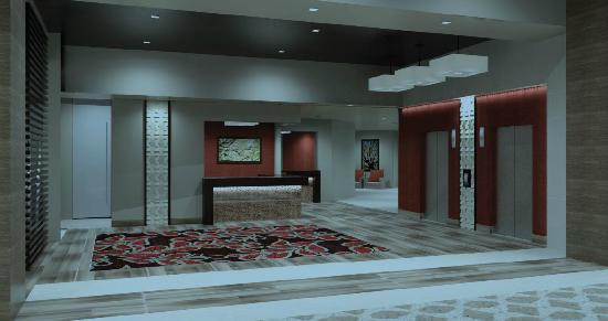 Coushatta Grand Hotel: Lobby and Bell Area