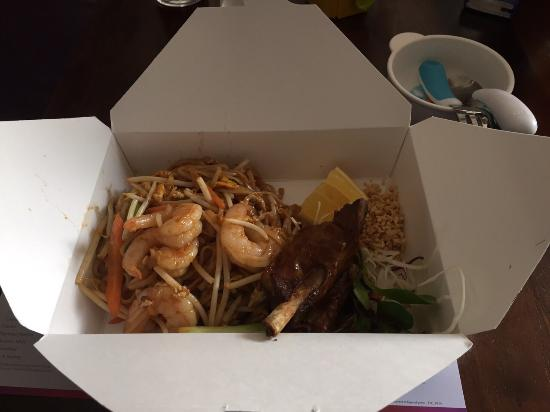 Thai Street Cafe: Lunch Bento