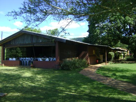 Piggs Peak, Swaziland: Restaurant at Tintsaba