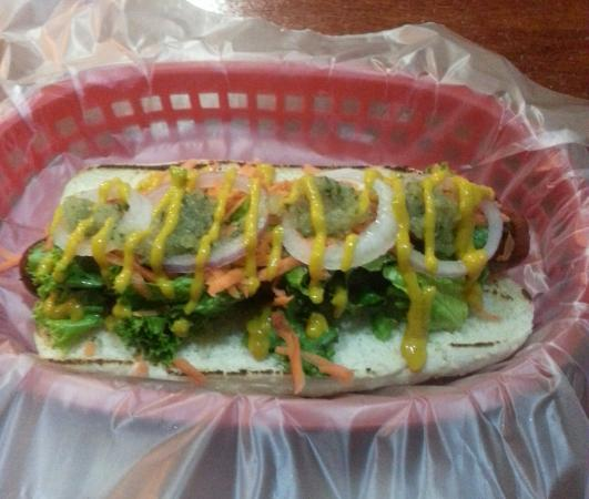 Nicoya, Costa Rica: Hot dog especial