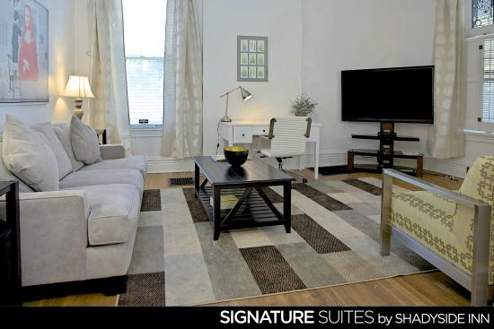 Two Bedroom Signature Suite Picture Of Shadyside Inn All Suites Hotel Pittsburgh Tripadvisor